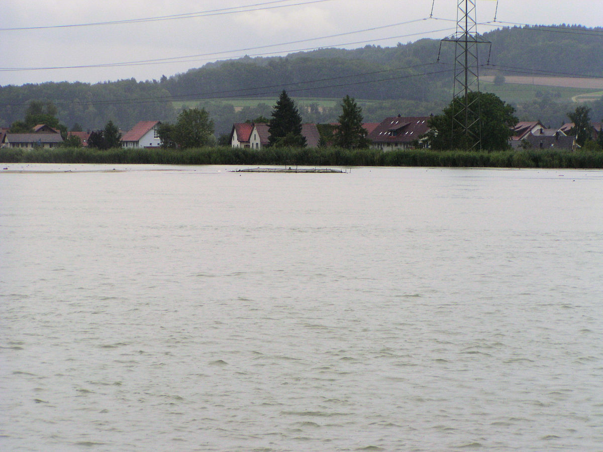 Stausee Klingnau, ausbaggern, Gegen den Kanton