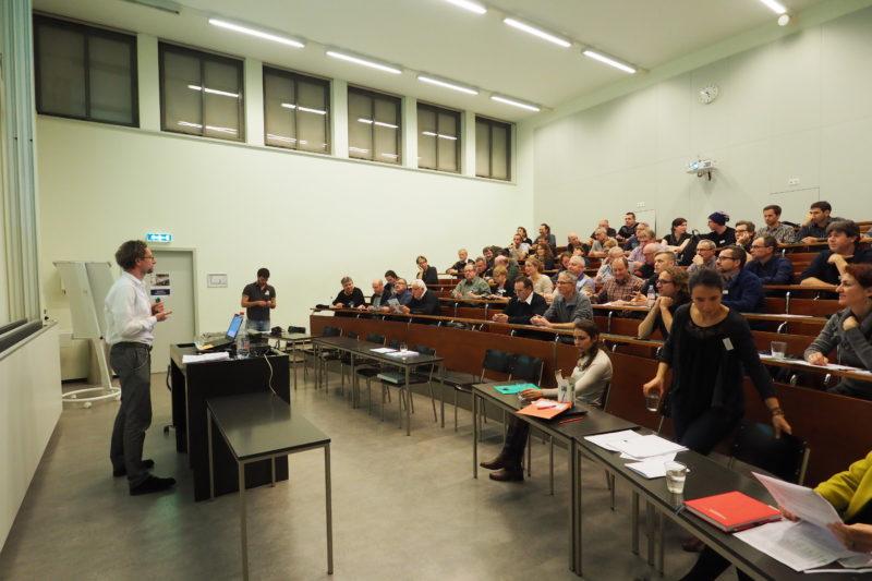 Foto: A.B, Die Veranstaltung an der Uni Basel war sehr gut besucht