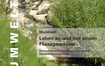 Merkblatt Fliessgewässer, AFV