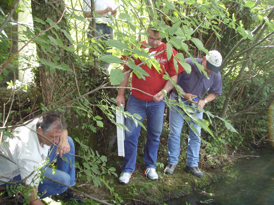Weiterbildungskurs AFV Gewässerökologie /-schutz am 15.09.18