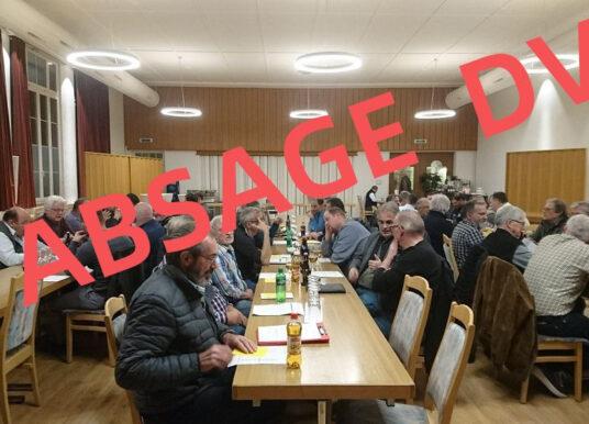 ABSAGE DER DV VOM 02.04.2020